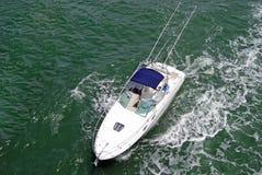 De Boot van Sportsfishing Stock Foto's