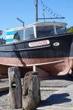 De boot van TV toont stock foto