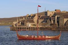 De boot van Viking. Stock Foto's