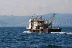 De Boot van vissen Stock Afbeeldingen