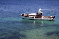 De boot van vissen royalty-vrije stock foto's