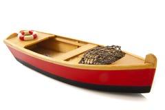 De boot van vissen stock fotografie