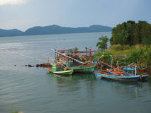 De boot van visser Royalty-vrije Stock Afbeeldingen