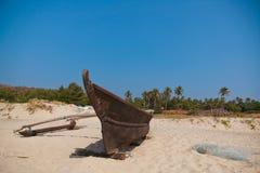 De boot van vissersmensen Royalty-vrije Stock Afbeelding