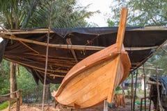 De bootbouw royalty-vrije stock afbeeldingen