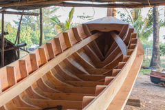De bootbouw stock fotografie