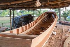 De bootbouw stock foto