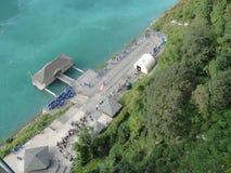 De Bootdok van Niagaradalingen Stock Afbeeldingen