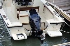 De bootmotor van de motor Royalty-vrije Stock Fotografie
