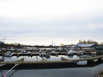 De bootpost van Helsinki Royalty-vrije Stock Foto