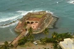 De Boquerà för Fortin de San Gerà ³nimo ³ n, San Juan Royaltyfri Bild