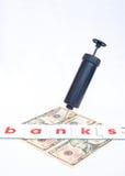 De borgtocht van de Bank van de V.S. uit? Royalty-vrije Stock Fotografie