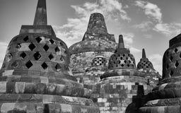 De Borobudur-Tempel Stock Foto