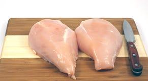 De borst van de kip. Royalty-vrije Stock Foto