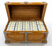 De borst van de schat Royalty-vrije Stock Afbeelding