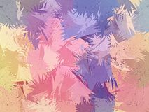 De borstel abstracte achtergrond van de verscheidenheidspastelkleur Stock Afbeelding