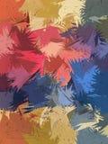 De borstel abstracte achtergrond van de verscheidenheidspastelkleur Royalty-vrije Stock Foto