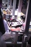 De borstel en de schoonheidsmiddelen van de make-up competition Stock Foto