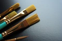 De borstel van de kunst Stock Foto's