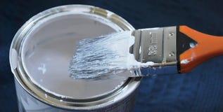 De borstel van de verf stock afbeelding