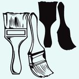 De borstel van de verf vector illustratie