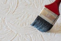 De borstel van oppervlaktekleuren Royalty-vrije Stock Fotografie