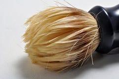De borstelclose-up van de scheerbeurt Royalty-vrije Stock Fotografie