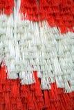De borstels van de autowasserette Stock Fotografie