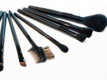 De Borstels van de make-up Stock Fotografie
