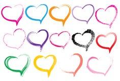 De borstelslag van het hart Royalty-vrije Stock Afbeelding