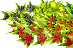 De bos van de origami royalty-vrije stock foto