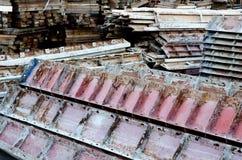De bos van de staalstructuur Royalty-vrije Stock Afbeeldingen