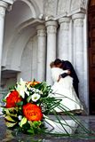 De bos van het huwelijk van bloemen Royalty-vrije Stock Afbeeldingen