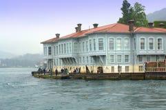 De Bosphorus oude bouw, Istanboel Stock Foto's