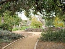 De botanische gang van de tuinweg in Santa Barbara California royalty-vrije stock fotografie