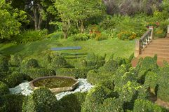 De botanische tuin royalty-vrije stock fotografie