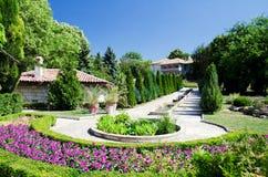 De Botanische Tuin van Balchik Royalty-vrije Stock Afbeeldingen