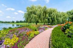 De Botanische Tuin van Chicago royalty-vrije stock fotografie