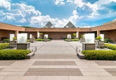 De Botanische Tuin van Chicago, het gebied van de Bonsaiinzameling, de V.S. Royalty-vrije Stock Fotografie