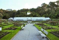 De Botanische Tuin van Wellington Stock Afbeeldingen
