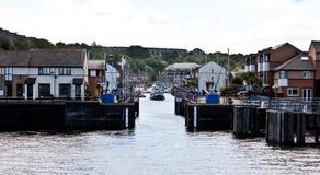 De boten van Cardiff stock foto's