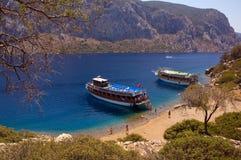 De boten van de cruise Stock Afbeelding