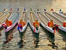 De boten van de draak Royalty-vrije Stock Foto