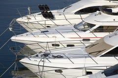 De boten van de motor Stock Foto's