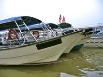 De boten van de passagier Stock Foto's