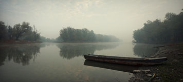 De boten van de rivier Stock Afbeeldingen
