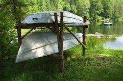 De boten van het aluminium royalty-vrije stock afbeelding