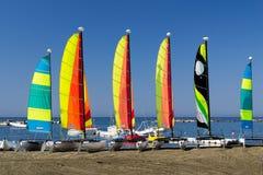 De boten van het zeil Royalty-vrije Stock Foto's