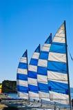 De boten van het zeil stock afbeelding