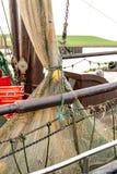 De boten van Noordzeegarnalen Royalty-vrije Stock Afbeelding